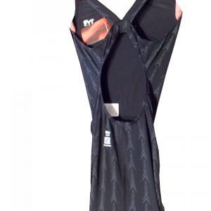 Fusion Aeroback női versenyúszó – AFUS (001) Fekete