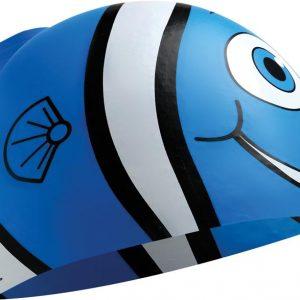 Happy fish szilikon úszósapka – LCSHAPPY, (420) Kék