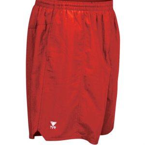 Deckshort férfi rövidnadrág - Piros