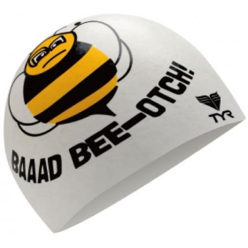 Bee szilikon úszósapka – LCSBEE, (100) fehér,