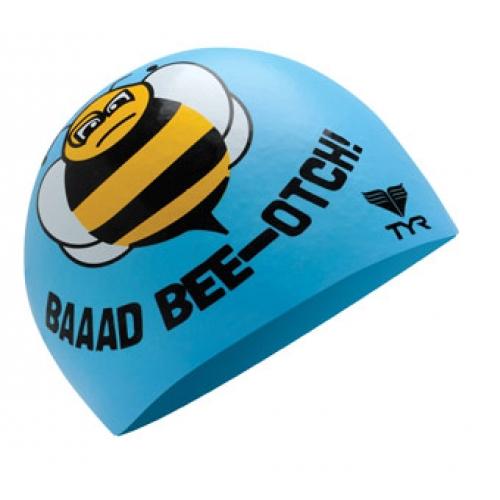 Bee szilikon úszósapka – LCSBEE, (450) világoskék
