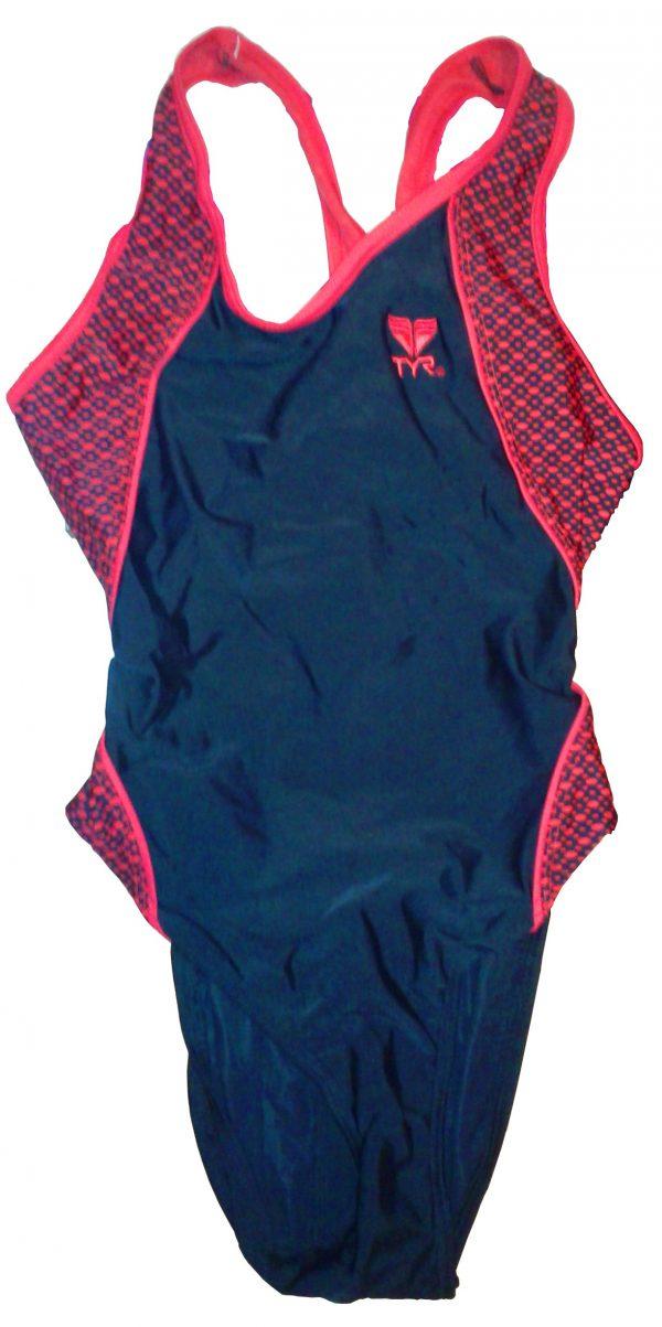 Mesh Maxback női úszódressz - Piros