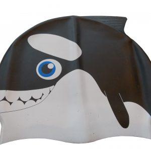 Bonnet bálnás szilikon gyerek úszósapka